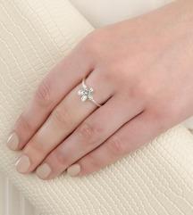 Pandora Floral Daisy prsten srebro ale s925