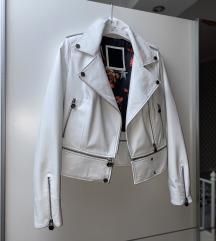 Nova bela kozna jakna Philipp Plein