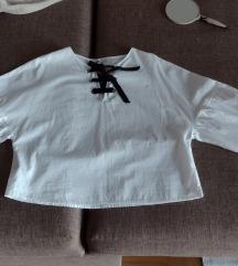 Mango košulja sa puf rukavima Vel L