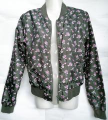 Terranova šuškava cvetna bomber jakna