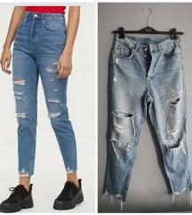 ▪️H&M▪️ slim mom jeans SNIZENE