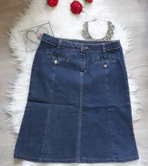 Nova teksas suknja A kroja