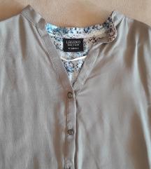 Legend poslovna siva bluza