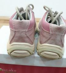 PAVLE OBUĆA roze čizme od prevrnute kože - broj 24