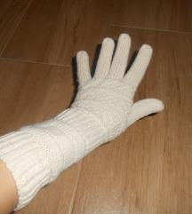 Prelepe bež štrikane rukavice
