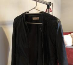 Camaieu crna kožna jakna