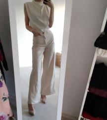 Zara pantalone širokih nogavica