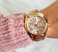 Fossil sat gold rose