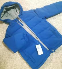 F&F nova zimska jakna sa etiketom 3-4god