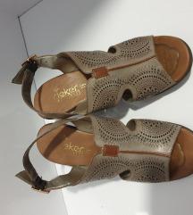 Reiker kožne sandale