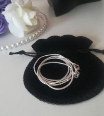 Sajlica ogrlica zig 925 NOVO