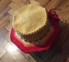 Unikatni pamučni letnji šešir