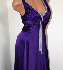 Božanstvena svečana haljina*Cirkoni*Kao Novo