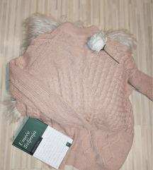 Vintage oversize džemper