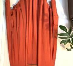 Narandzasti ogrtac/kardigan