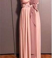 Duga elegantna nezna haljina
