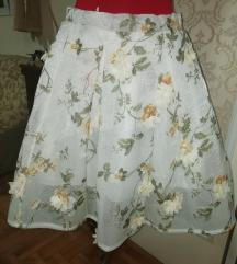 Novo suknja 3 de cvetovi