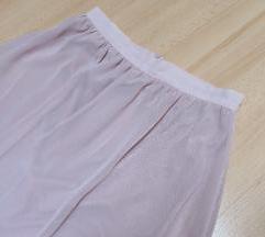 Suknja puder roze