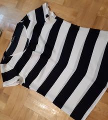 Majica svilena na pruge