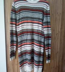 H&M loog dzemper haljina tunika
