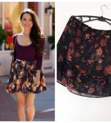 rezz 299 CLOCKHOUSE floral suknja ✿**✿ m/l