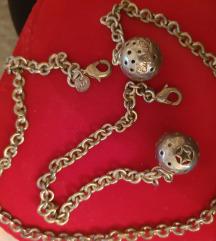 Tiffany set ogrlica i narukvica