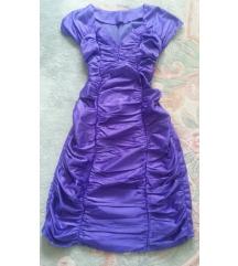 Elegantna haljina - ljubicaste boje NOVA