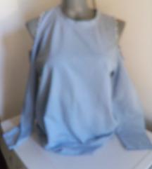 Plavi duks otvorenih ramena L