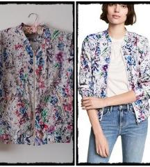 H&M floral bomber
