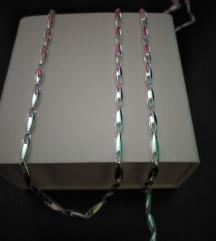 Srebrna ogrlica, narukvica, novo