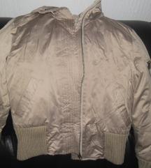 MANGO zlatna jakna L/XL