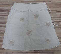 Suknja lanena