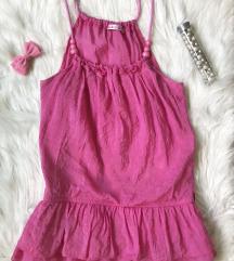 Pink bluza sa perlicama i karnerima