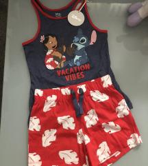 Letnja dečija komplet pidžama DISNEY NOVO