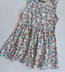 Pamucna haljina sa leptiricima