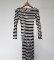 Berška midi haljina na pruge, Novo, Akcija 950