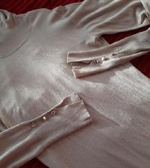 Rolka haljina pesak boje NOVA