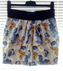 Vero moda suknja cvetni print