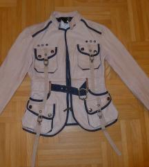 CAVALLI original jakna,jelenska koza,S