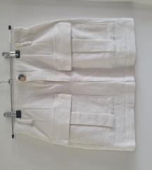 Zara bela suknja