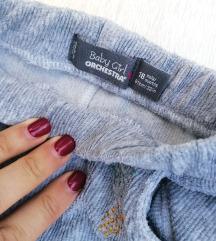 Plisane pantalone za devojcicu