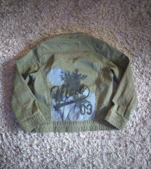 Molo maslinasta teksas jaknica