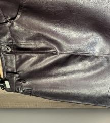 Reserved kožna suknja