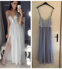 Svecana haljina od tila predivna  POVOLjNO