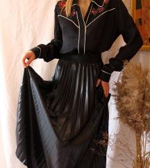 Nova faux leather suknja sa etiketom M-XL