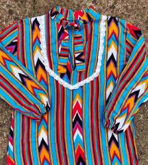 NOVA  unikatna bluza u etno stilu vel. S