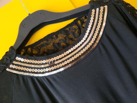 Kratka, crna, haljina