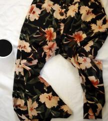 Terranova nezne floralne palazzo pantalone