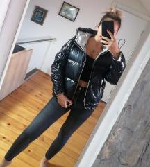 Srebrna jakna sa dva lica