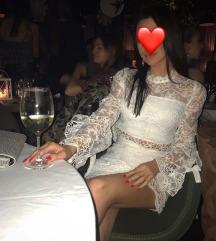 Bela predivna elegantna haljina